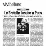 Corriere delle Alpi, 29 ottobre 2005
